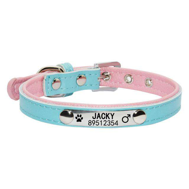 Personalized Engraved Cute Pet Collar