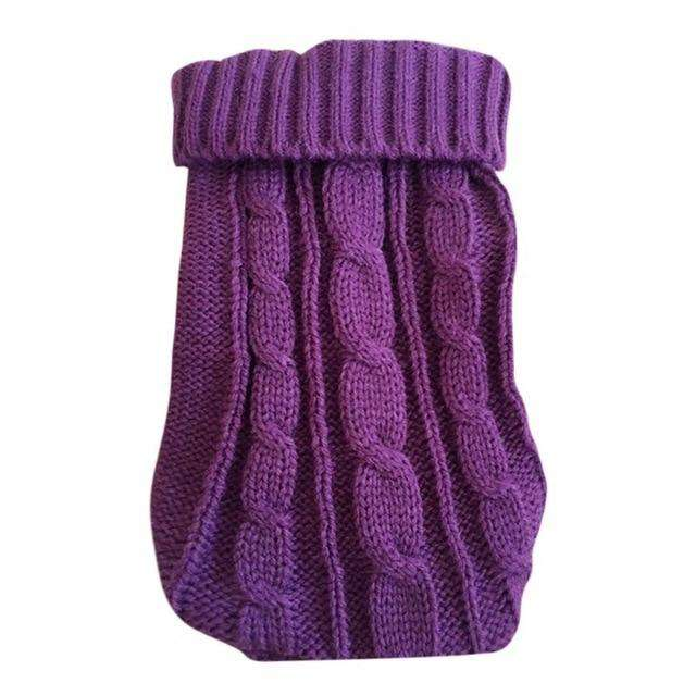 Cotton Dog Sweater For Small Dog Breeds