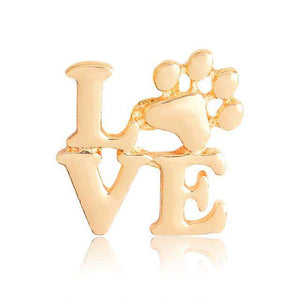 2-Piece Love Paw Jewelry Pin Set