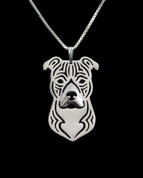 Pitbull Terrrier Necklace