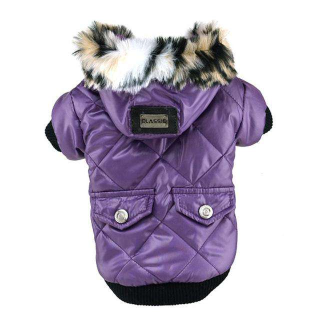 Winter Dogs Clothes Down Jacket French Bulldog Dog Coat Pet Costume Warm Outwear Clothing for Dogs New
