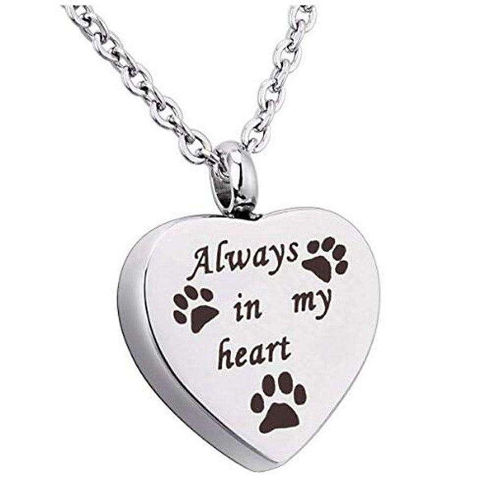 Memorial Pet Urn Necklace