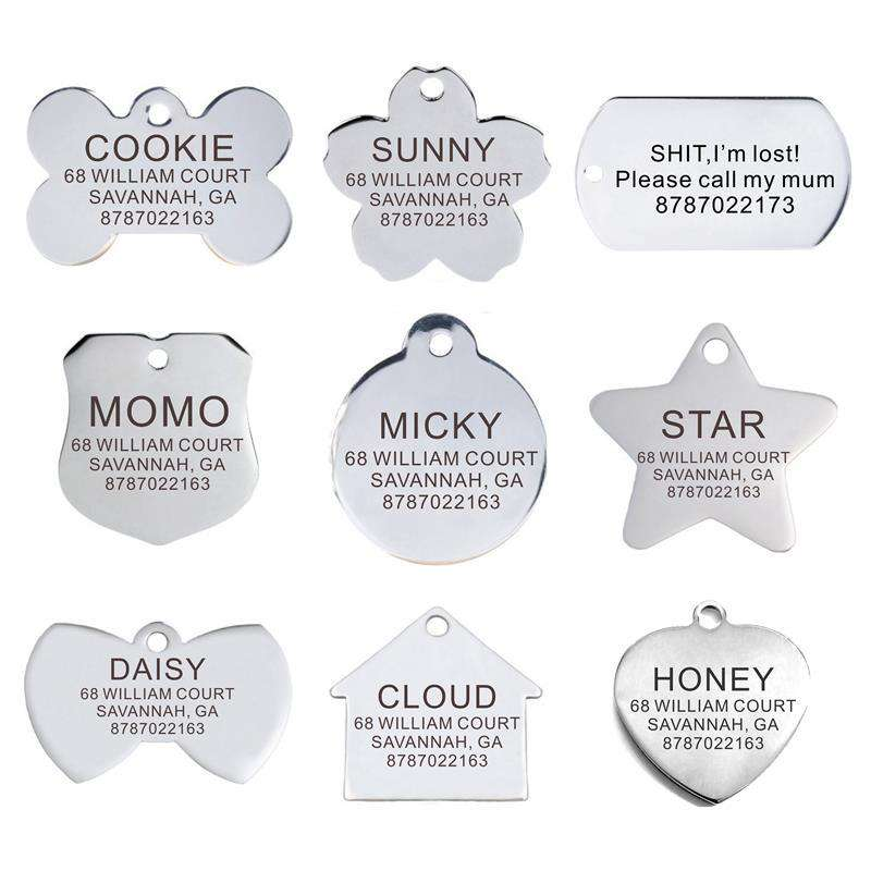 Personalized Pet ID Tag