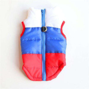 Waterproof Pet Dog Puppy Vest Jacket Chihuahua Clothing Warm Winter Dog Clothes Coat For Small Medium Large Dogs 16 Colors XS-XL