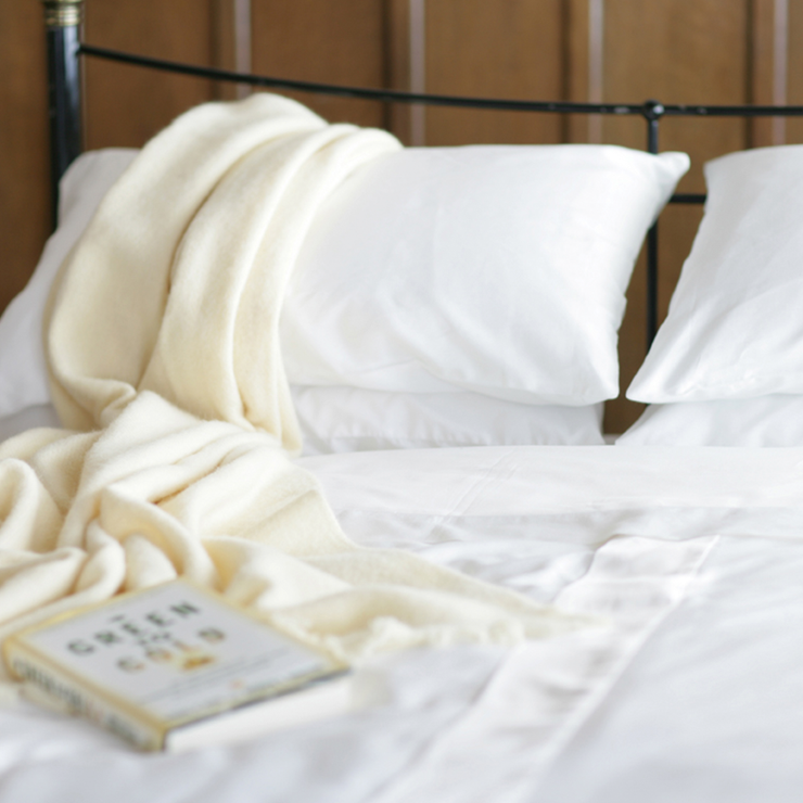 Percale Organic Cotton Duvet Cover - Abaca Mattresses
