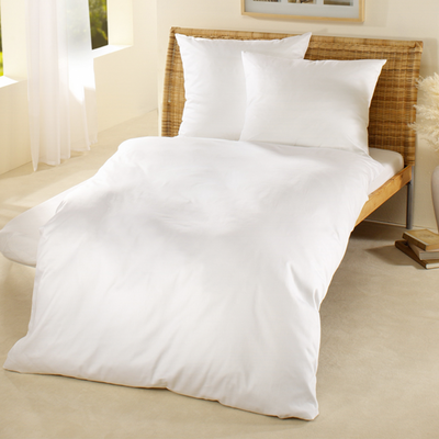 Percale Organic Cotton Fitted Sheet - Abaca Mattresses