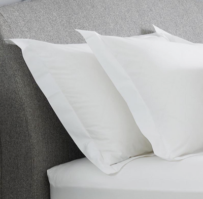 Percale Organic Cotton Pillow Case - Abaca Mattresses