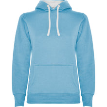 Load image into Gallery viewer, Sieviešu hūdijs hoodie Urban Woman Light Blue