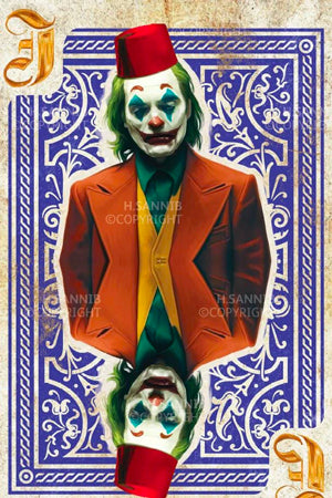 Joker with Tarboush