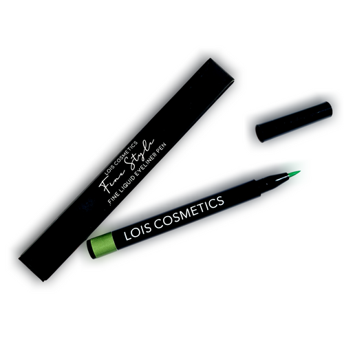 Fine Style Liquid Eyeliner Pen - Green Glitch