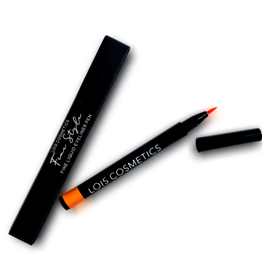 Fine Style Liquid Eyeliner Pen - Out Out Orange