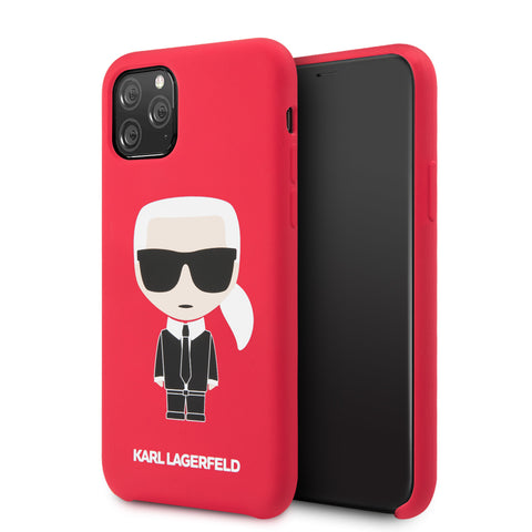 Apple iPhone Karl Lagerfeld Back cover coque Iconic Rouge - Full Body