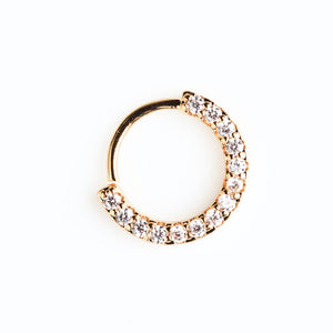 Adorned Hoop Gold