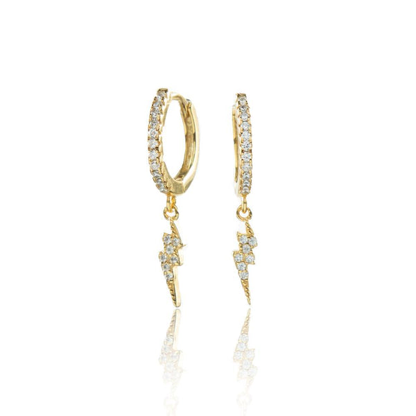 Stormi Hoops Gold