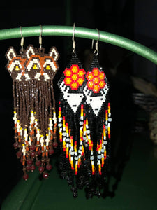 F O X & D E E R Totem Earrings