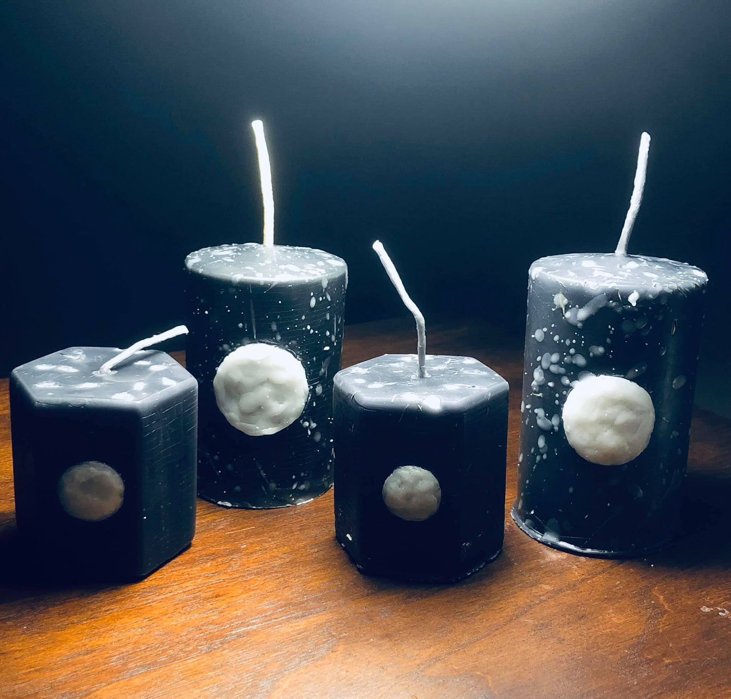 Night Sky - Full Moon Candle
