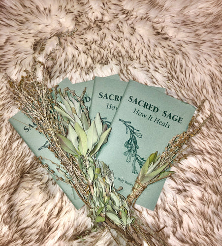 Sacred Sage - booklet & bundle