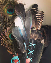 Custom Spirit Feather Fan