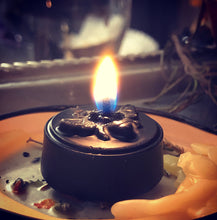 Black Beeswax Candles