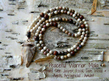 ~Peaceful Warrior~ 108 Bead Mala