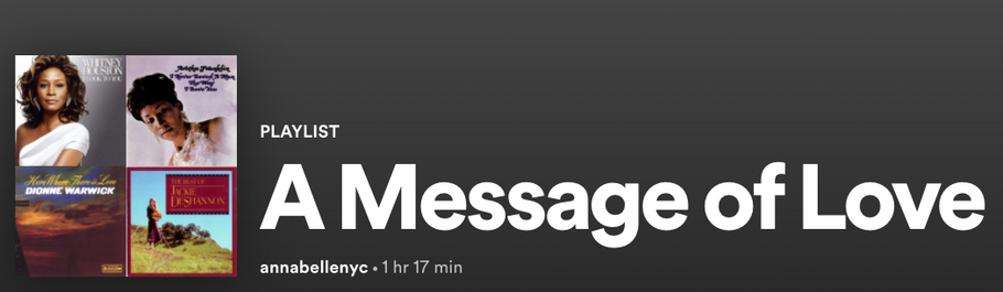 A Message of Love on Spotify