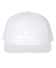 Load image into Gallery viewer, White/White Flatbill Hat