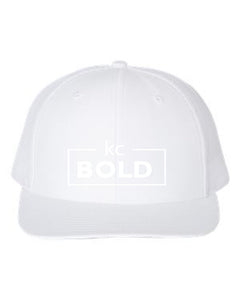 White/White Standard Bill Hat