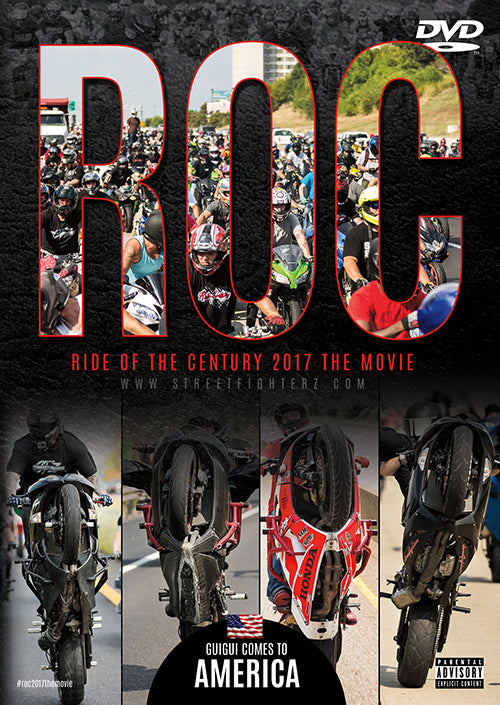 "DVD - ROC 2017 THE MOVIE ""GUIGUI COMES TO AMERICA"""