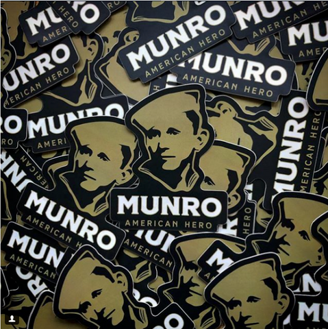 Munro Sticker