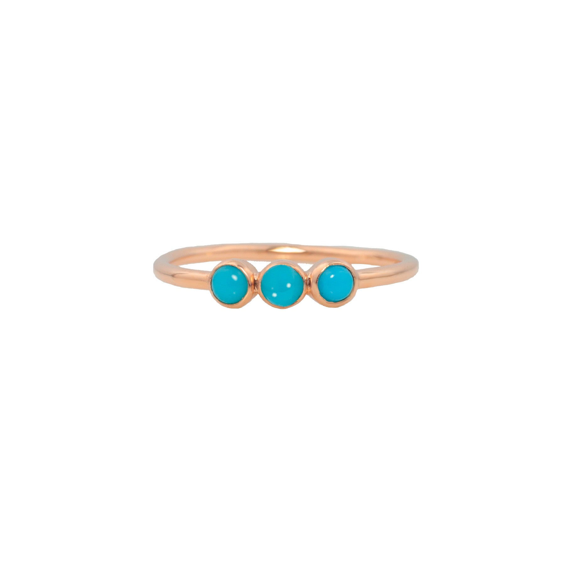 THREE SISTERS RING IN TURQUOISE
