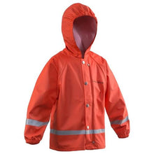 Load image into Gallery viewer, Zenith Orange Rain Jacket