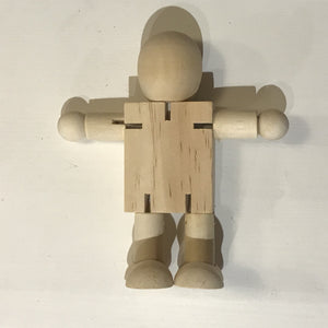 Simple Wood Robot