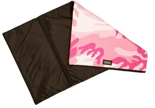 TwOOwls Pink Camo Changing Pad-One size-Made in the USA