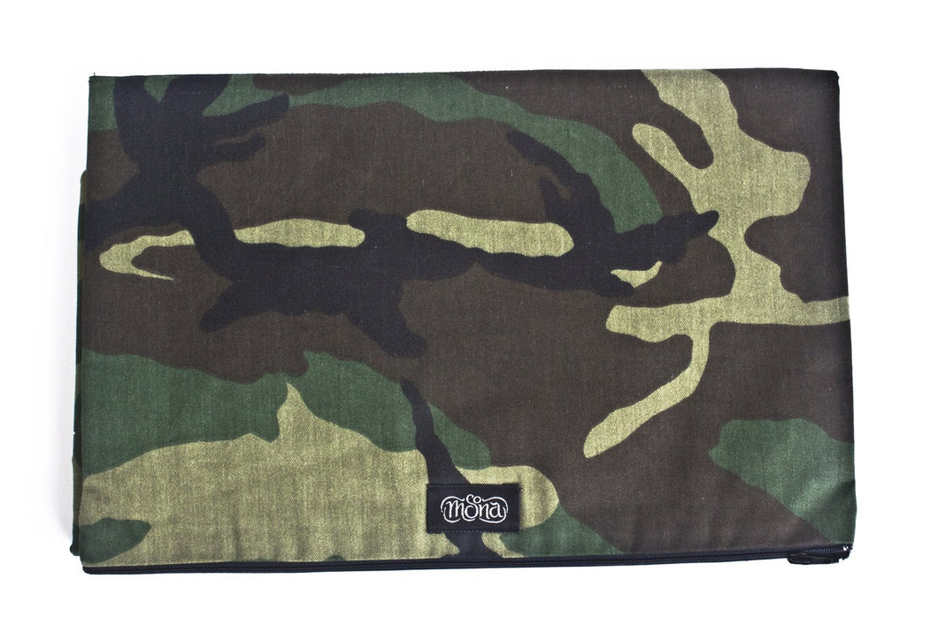 TwOOwls Green Camo Changing Pad-One size-Made in the USA