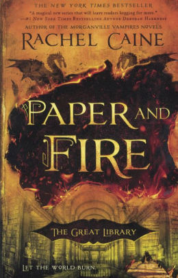 Paper and Fire (The Great Library Series #2)