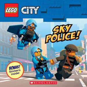 Sky Police! (LEGO City: Storybook with Stickers)