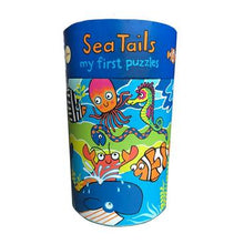 Load image into Gallery viewer, S My First Puzzles Sea Tails