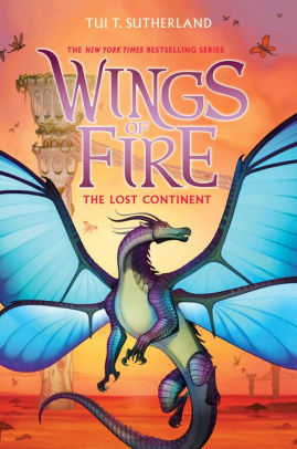 The Lost Continent (Wings of Fire Series #11)