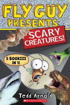 Fly Guy Presents: Scary Creatures! (5 books in 1)
