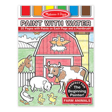 Load image into Gallery viewer, Farm Animals Paint with Water Kids' Art Pad