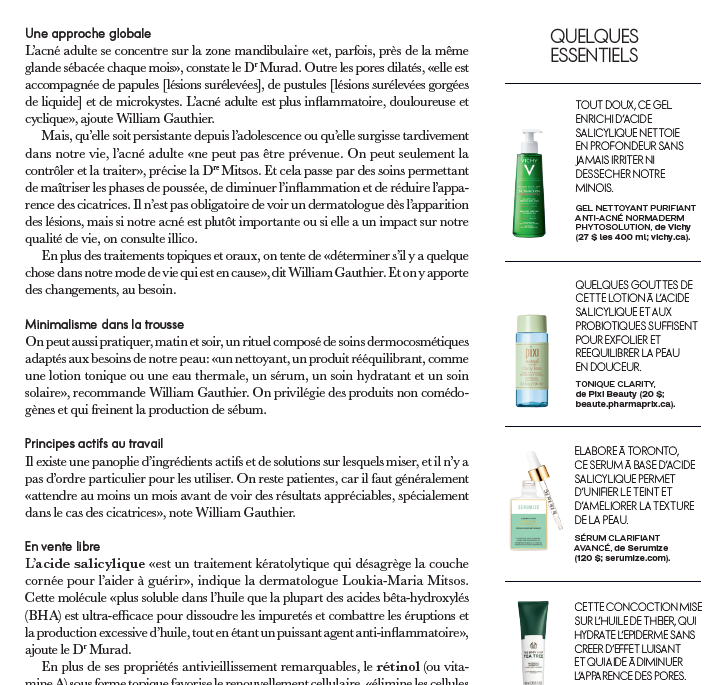 clearfight serum as seen on Elle