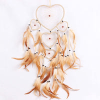 Beige Heart Dreamcatcher