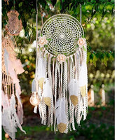 Boho Dreamcatcher White/Gold