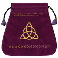 Triple Goddess Velvet Bag