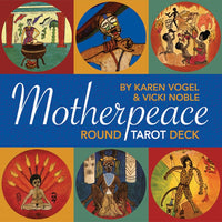 Motherpeace Round Tarot Deck -  witchespurse.myshopify.com