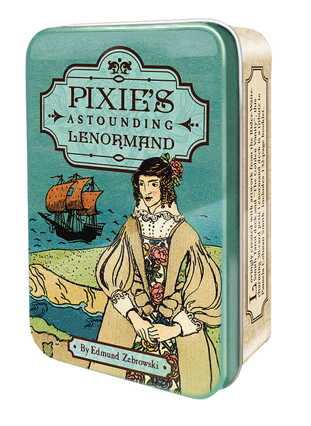 Pixie's Astounding Lenormand Tarot in a Tin