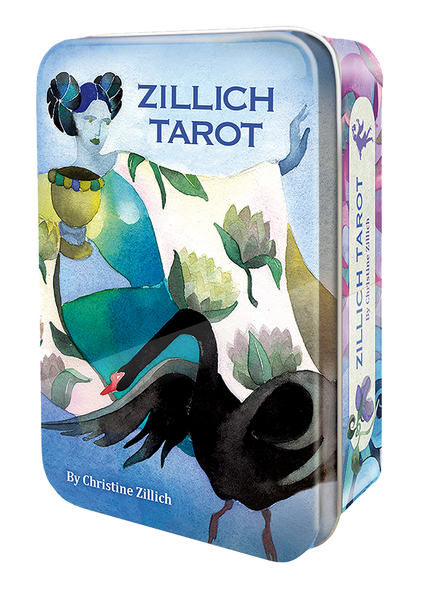 Zillich Tarot in a Tin