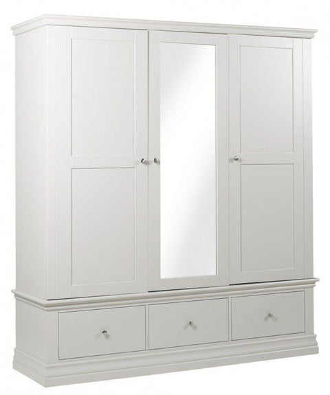 Corndell AnnecyTriple Wardrobe - Painted Top