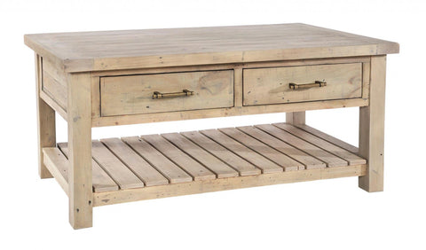 Helford Coffee Table with Drawers