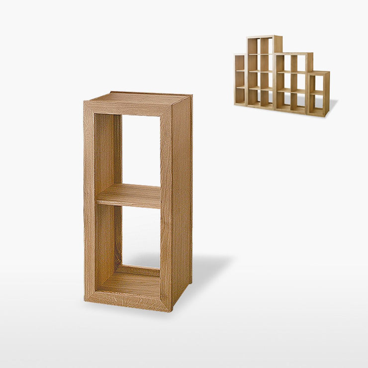 Manor Oak 1 Shelf Shelving / Display Unit